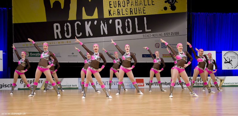 Weltmeister Girl Formation Juniors: Tequilas CZ