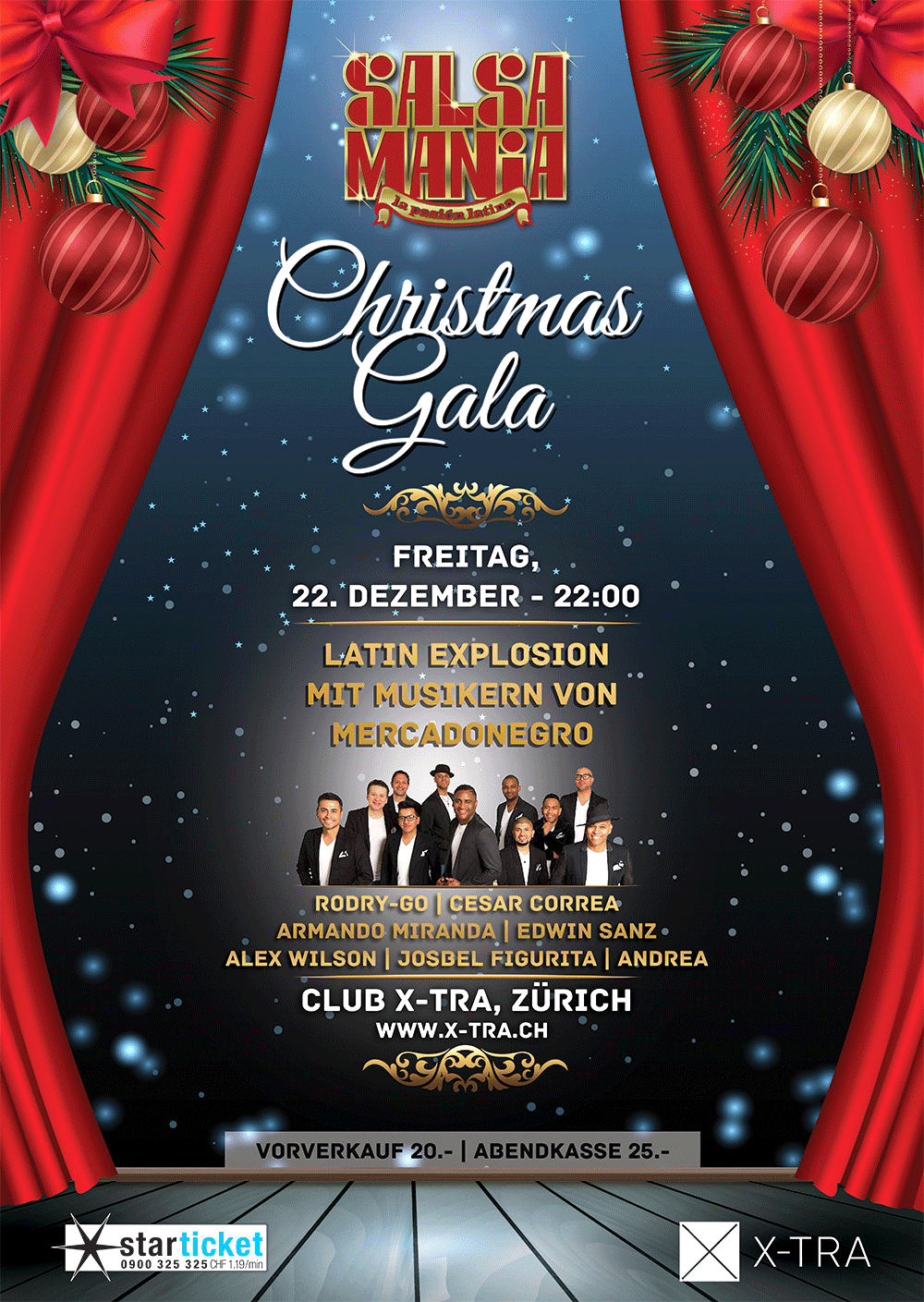 SALSAMANIA - CHRISTMAS GALA Night