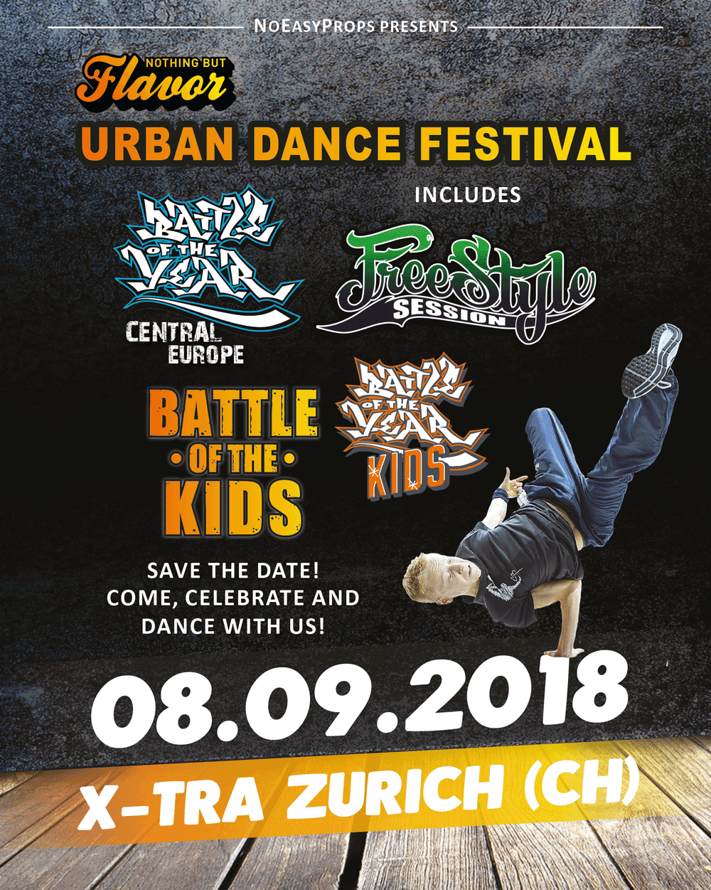 NOTHING BUT FLAVOR– Urban Dance Festival
