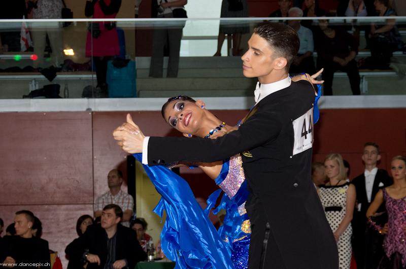 Europameister Youth Standard: Artem Bronnikov & Daria Grishko Russian Federation
